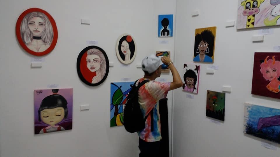 Exposição rola ate o dia 31 de Março.