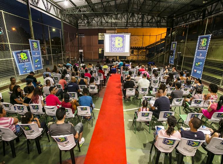 Com entrada gratuita projeto itinerante leva cinema brasileiro à comunidades