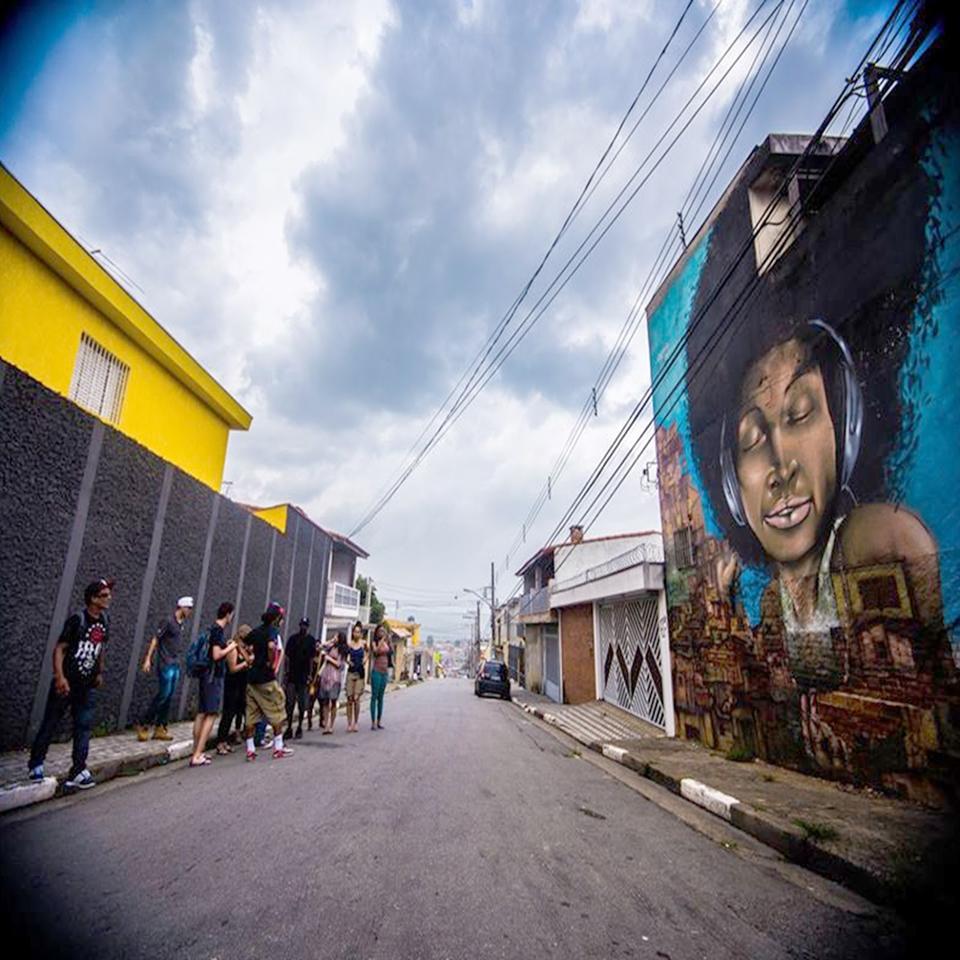 """Favela Galeria"""" é Inaugurada pelo Grupo OPNI – Cultura Leste"""