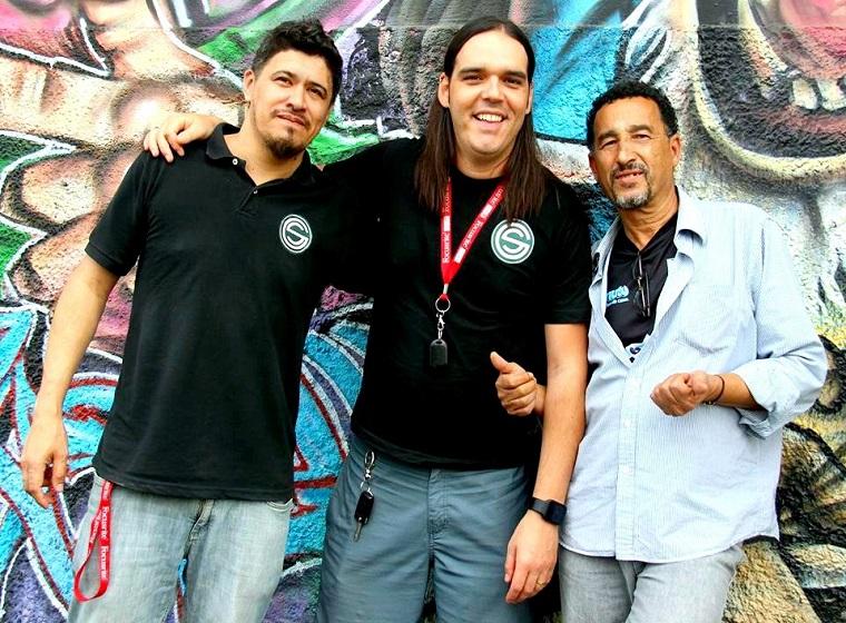 Allex Nascimento e Gus Soularys(Grrenhouse Studio e Pedro Moreira Portal CL.
